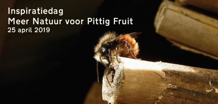 Inspiratiedag 'Meer natuur voor pittig fruit'